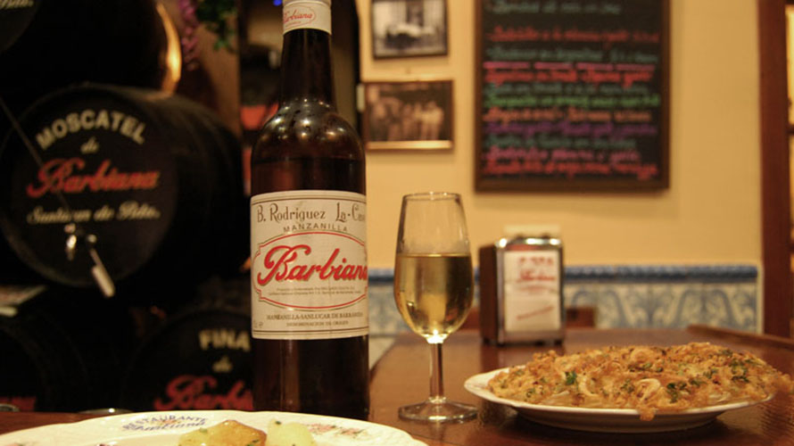 Mejor manzanilla de Sevilla. Restaurante Barbiana