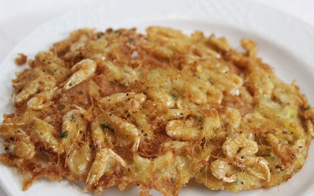 Tortillitas de camarones: el manjar sanluqueño que ha conquistado Sevilla