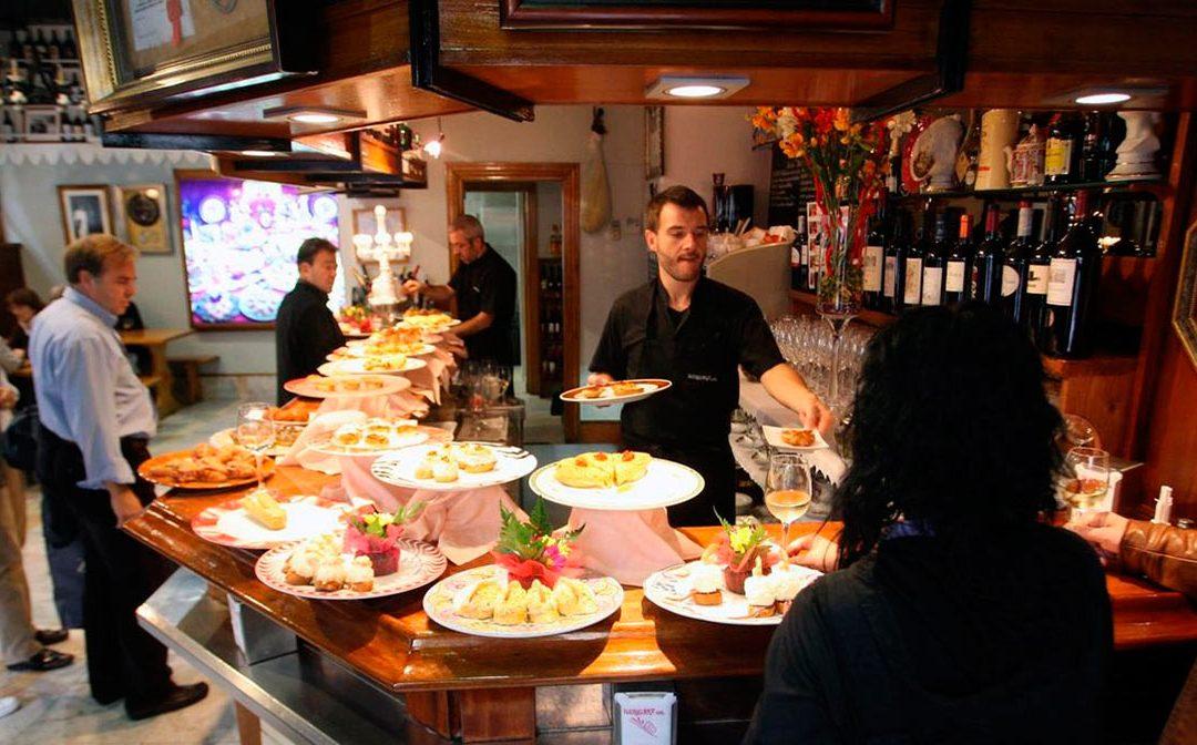 Las mejores zonas de España para salir de tapas