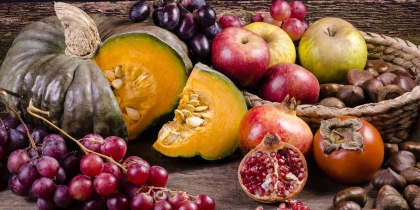 Alimentos de otoño que cuidan tu salud